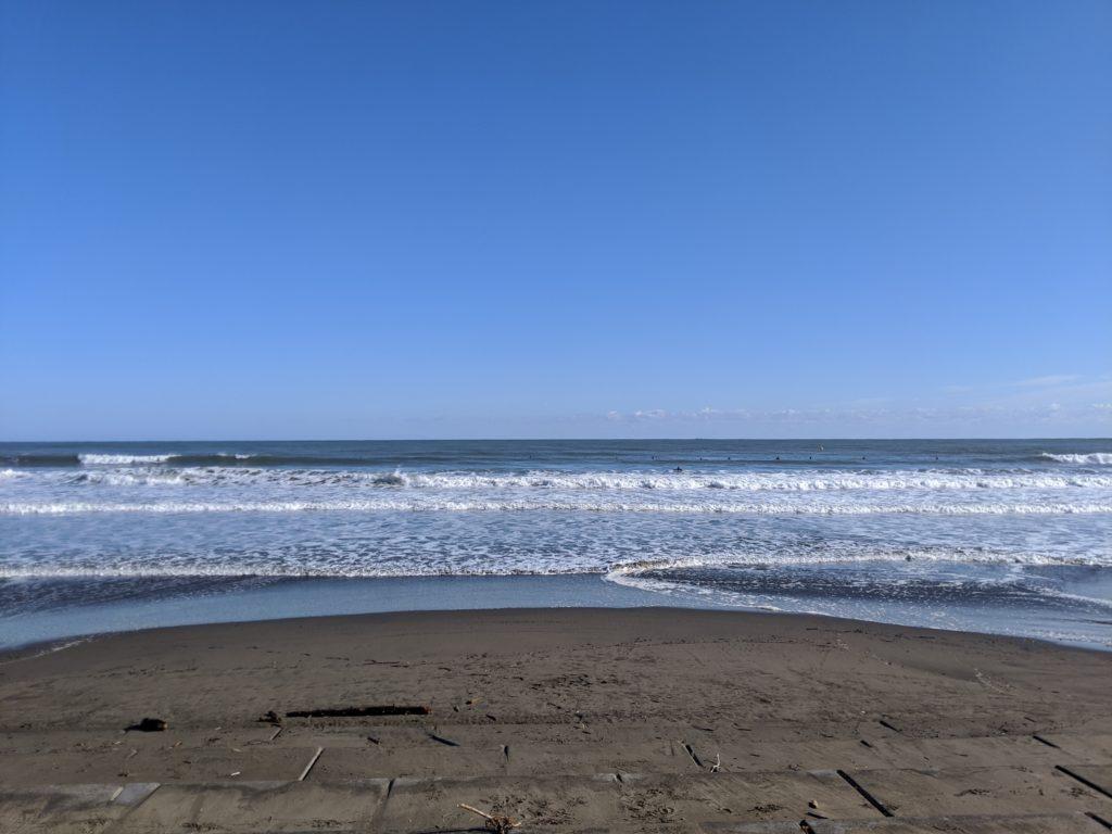2020.1.29の青島の海