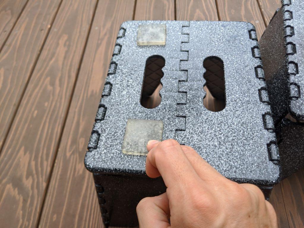 自作したサーフボードスタンドを簡単カスタム