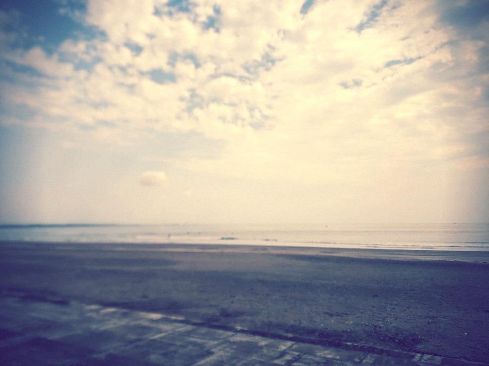 2020.7.1 青島ビーチの波の様子